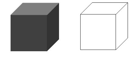 3D model of the cube