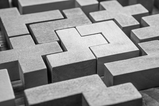 Building blocks B&W