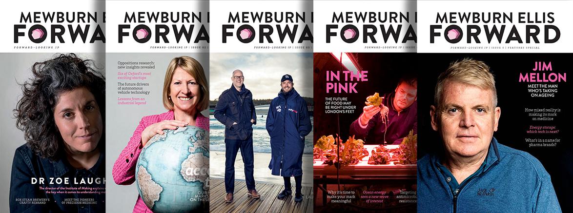 Forward Magazines Overalpping