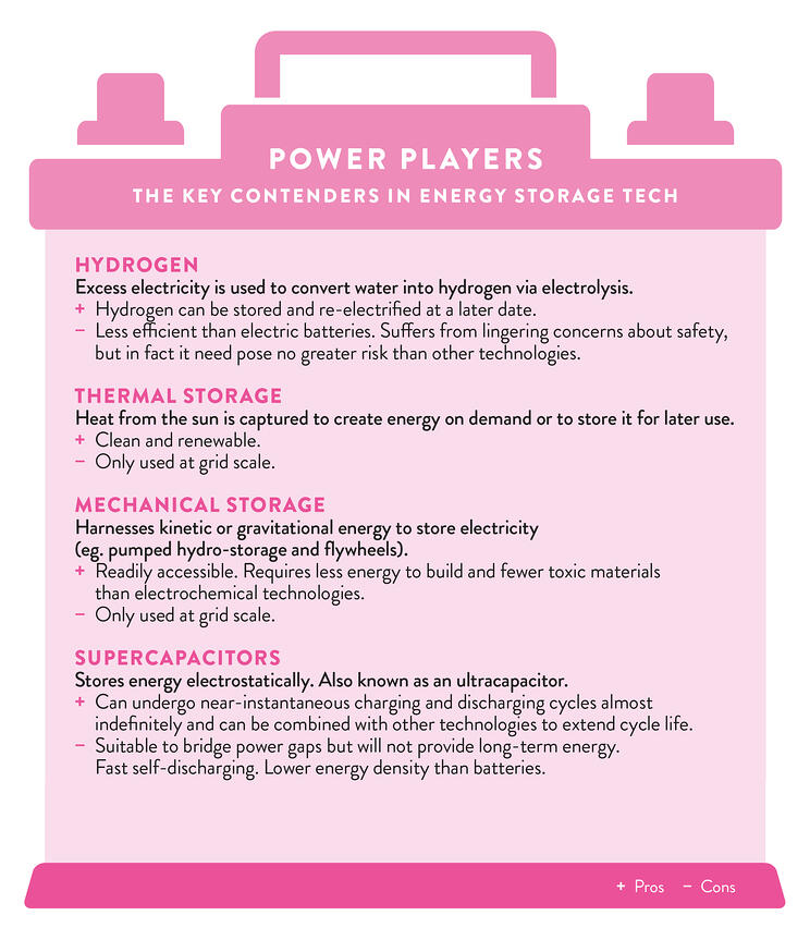 Power players  The key contenders in energy storage tech v2