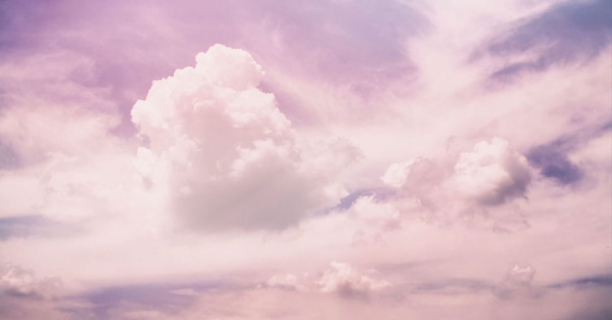 abstract purple clouds