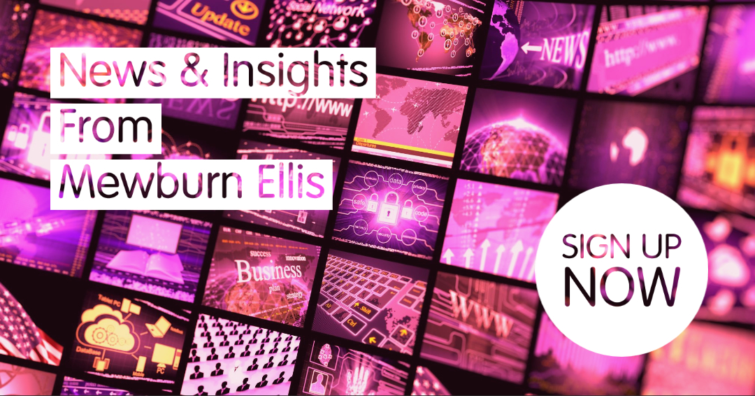 News & Insights sign up